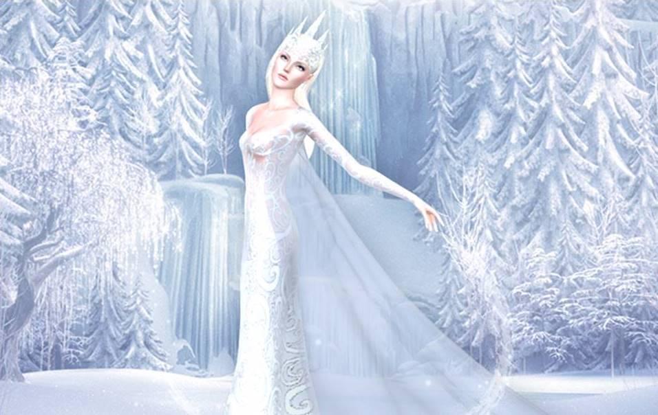 Новогодние картинки снежная королева